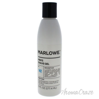 Picture of No. 142 Mens Shave Gel by Marlowe for Men 6 oz Shave Gel