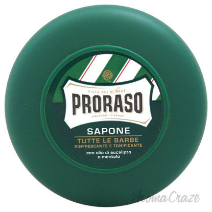 Picture of Refreshing And Invigorating Shaving Soap With Eucalyptus Oil & Menthol by Proraso for Men 2.6 oz Shaving Soap