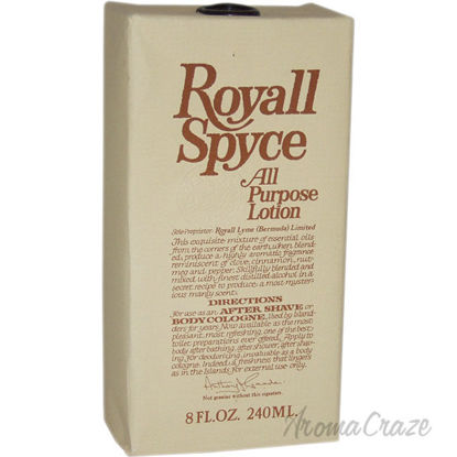 Picture of Royall Spyce Cologne by Royall Fragrances for Men 8 oz Lotion