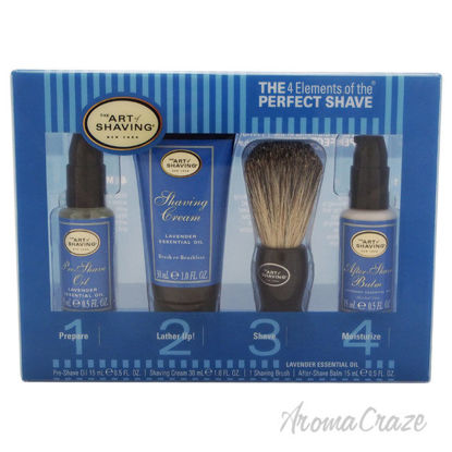 Picture of The 4 Elements of The Perfect Shave Mid Size Kit Lavender by The Art of Shaving for Men