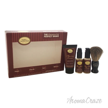Picture of The 4 Elements of The Perfect Shave Starter Kit Sandalwood by The Art of Shaving for Men