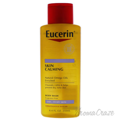 Picture of Calming Body Wash Daily Shower Oil by Eucerin for Unisex 8.4 oz Body Wash
