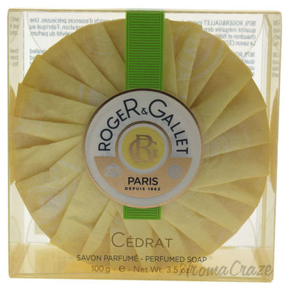 Picture of Cedrat by Roger & Gallet for Unisex 3.5 oz Bar Soap