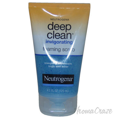 Picture of Deep Clean Invigorating Foaming Scrub by Neutrogena for Unisex 4.2 oz Scrub