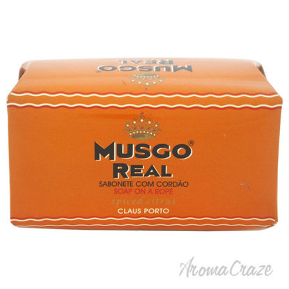 Picture of Musgo Real Spiced Citrus Soap on a Rope by Claus Porto for Unisex 6.7 oz Soap