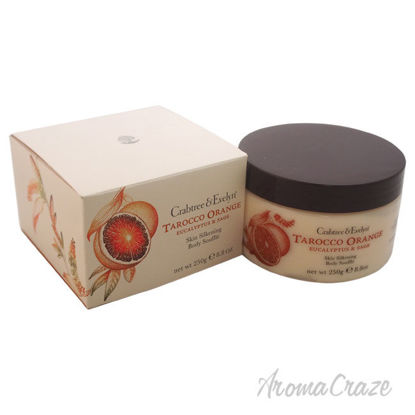 Picture of Tarocco Orange Eucalyptus & Sage Skin Silkening Body Souffle by Crabtree and Evelyn for Unisex 8.8 oz Body Souffle