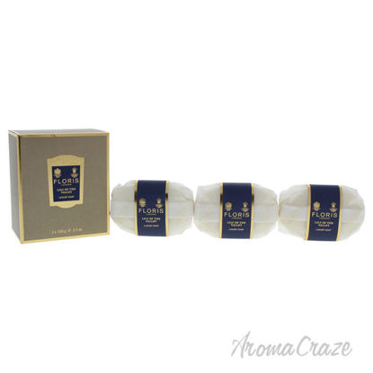 Picture of Lily Of The Valley Luxury Soap by Floris London for Women 3 x 3.5 oz Soap