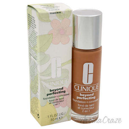 Picture of Beyond Perfecting Foundation Plus Concealer 18 Sand M N by Clinique for Women 1 oz Makeup