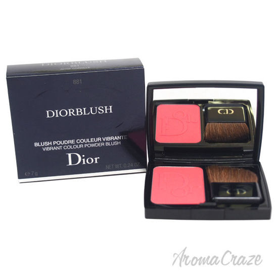 Picture of Diorblush Vibrant Colour Powder Blush 881 Rose Corolle by Christian Dior for Women 0.24 oz Blush