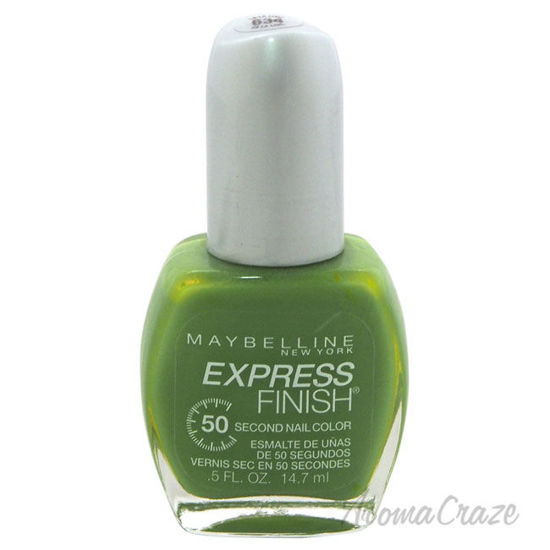 Picture of Express Finish 50 Second Nail Color 634 La La Lime by Maybelline for Women 0.5 ml Nail Polish