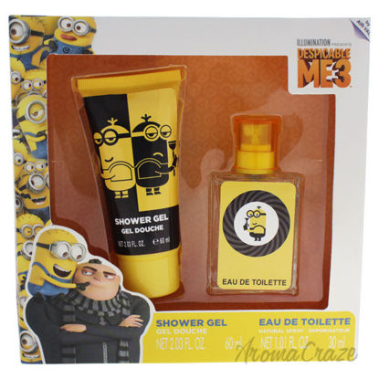 Picture of Despicable Me 3 by Air Val International for Kids 2 Pc Gift Set