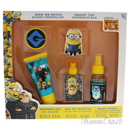 Picture of Despicable Me 3 by Air Val International for Kids 5 Pc Gift Set