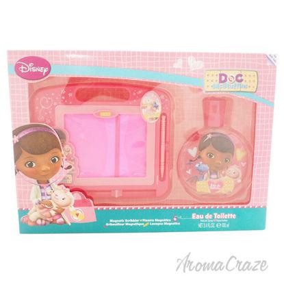 Picture of Doc McStuffins by Disney for Kids 2 Pc Gift Set 3.4oz EDT Spray, Magnetic Scribbler