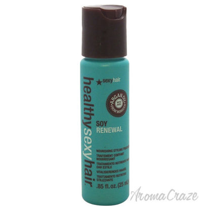 Picture of Healthy Sexy Hair Soy Renewal Nourishing Styling Treatment by Sexy Hair for Unisex 0.85 oz Treatment