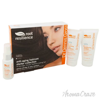 Picture of Root Resilience Anti Aging Haircare Starter Collection by Dr. Dennis Gross for Unisex 3 Pc Gift Set