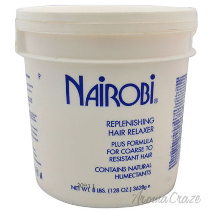 Picture of Replenishing Hair Relaxer Plus Formula For Coarse To Resistant Hair by Nairobi for Unisex 8 lb Relaxer