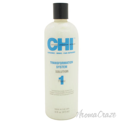 Picture of Transformation System Solution Phase 1 Colored Chemically Treated Hair by CHI for Unisex 16 oz Treatment