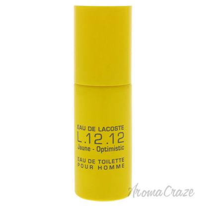 Picture of Eau De Lactoste L.12.12 Jaune Optimistic by Lacoste for Men 0.27 oz EDT Spray