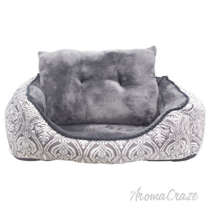 Picture of French Country Cuddler Pet Bed by Pet Maison for Unisex 24 x 36 x 12 Inch Pet Bed