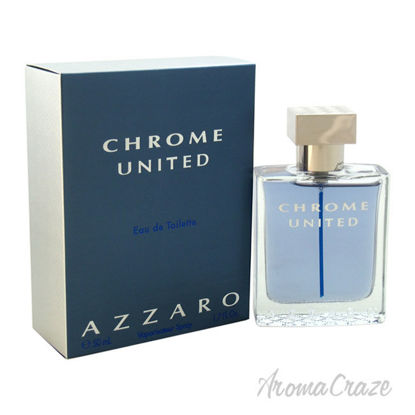 Picture of Chrome United by Azzaro for Men 1.7 oz EDT Spray