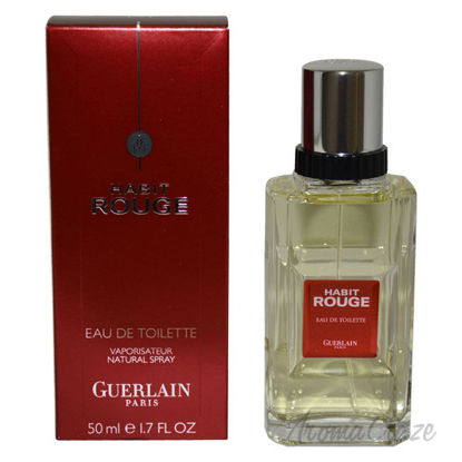 Picture of Habit Rouge by Guerlain for Men 1.7 oz EDT Spray