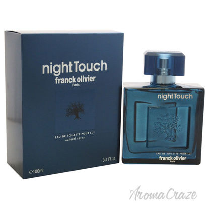 Picture of Night Touch by Franck Olivier for Men 3.4 oz EDT Spray