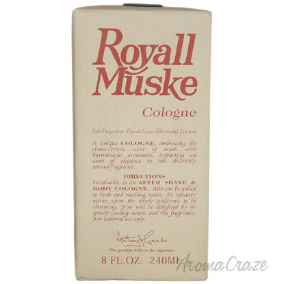 Picture of Royall Muske by Royall Fragrances for Men 8 oz Lotion Splash