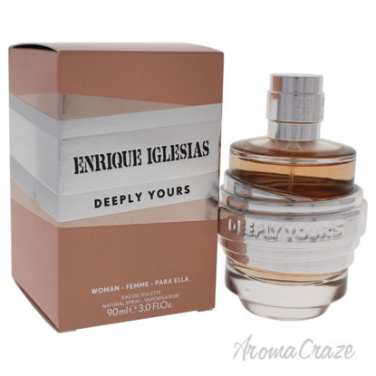 Picture of Deeply Yours by Enrique Iglesias for Women 3 oz EDT Spray
