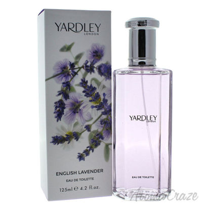 Picture of English Lavender by Yardley London for Women 4.2 oz EDT Spray