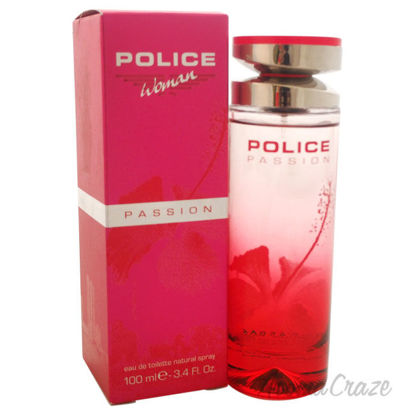 Picture of Police Passion by Police for Women 3.4 oz EDT Spray