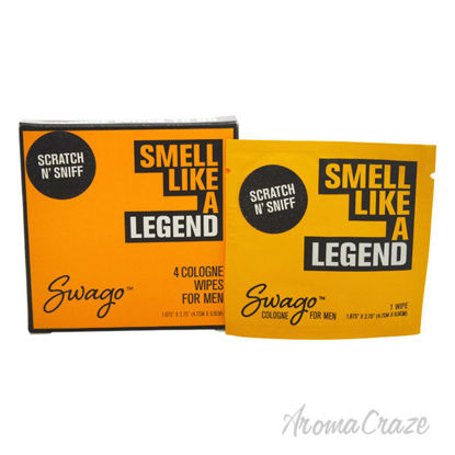 Picture of Smell Like a Legend by Swago for Men 4 Pc Pack Cologne Wipes