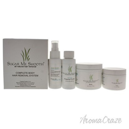 Picture of Complete Body Hair Removal System Kit by Sugar Me Smooth for Unisex 9 Pc Kit