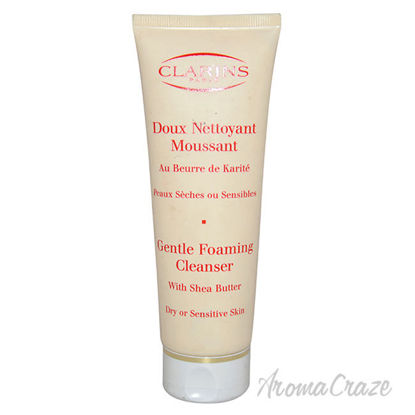 Picture of Gentle Foaming Cleanser With Shea Butter For Dry Or Sensitive Skin by Clarins for Unisex 4.4 oz Foaming Cleanser