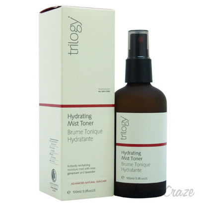 Picture of Hydrating Mist Toner by Trilogy for Unisex 3.3 oz Toner