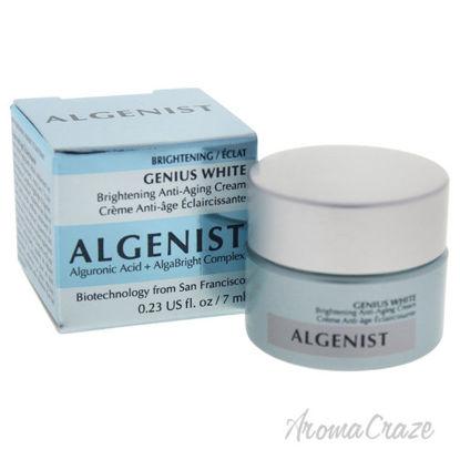 Picture of Genius White Brightening Anti Aging Cream by Algenist for Women 0.23 oz Cream