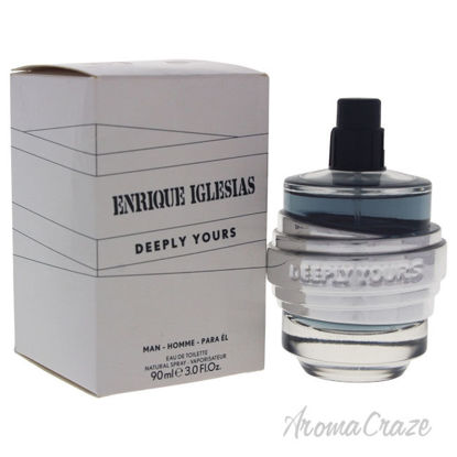 Picture of Deeply Yours by Enrique Iglesias for Men 3 oz EDT Spray