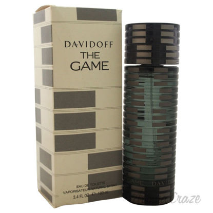 Picture of The Game by Davidoff for Men 3.4 oz EDT Spray