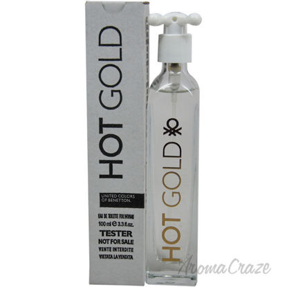 Picture of Hot Gold by United Colors of Benetton for Women 3.3 oz EDT Spray