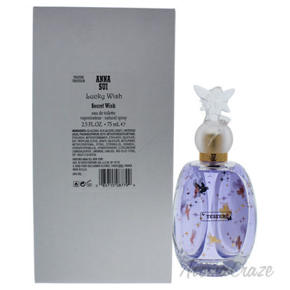 Picture of Lucky Wish & Secret Wish by Anna Sui for Women 2.5 oz EDT Spray