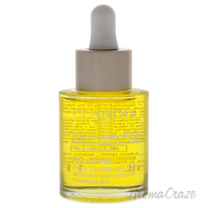 Picture of Blue Orchid Face Treatment Oil Dehydrated Skin by Clarins for Unisex 1 oz Treatment Oil