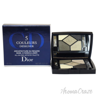 Picture of Dior 5 Couleurs All In One Artistry Palette Khaki Design by Christian Dior for Women 0.21 oz Palette
