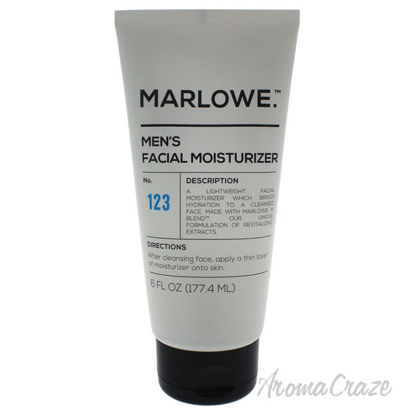 Picture of No. 123 Mens Facial Moisturizer by Marlowe for Men 6 oz Moisturizer