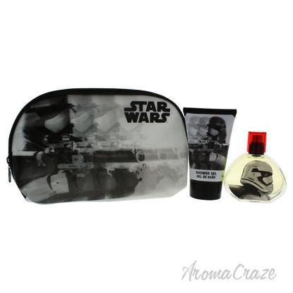 Picture of Star Wars by Air Val International for Kids 3 Pc Gift Set 1.7oz EDT Spray, 3.4oz Shower Gel, Toiletry Bag