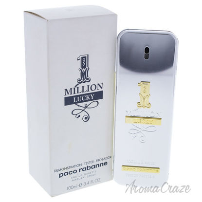 Picture of 1 Million Lucky by Paco Rabanne for Men 3.4 oz EDT Spray