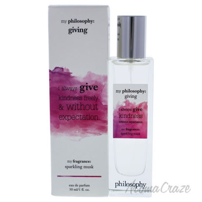 Picture of My Philosophy Giving by Philosophy for Women 1 oz EDP Spray