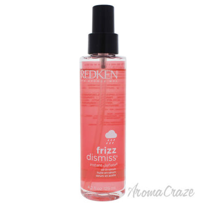 Picture of Frizz Dismiss Instant Deflate Oil Serum by Redken for Unisex 4.2 oz Serum