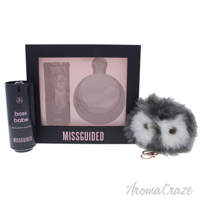 Picture of Boss Babe by Missguided for Women 2 Pc Gift Set 2.7oz EDP Spray, Pom Pom Keyring