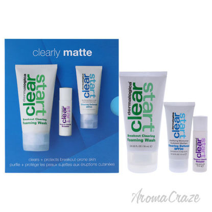 Picture of Clearly Matte Kit by Dermalogica for Unisex 3 Pc