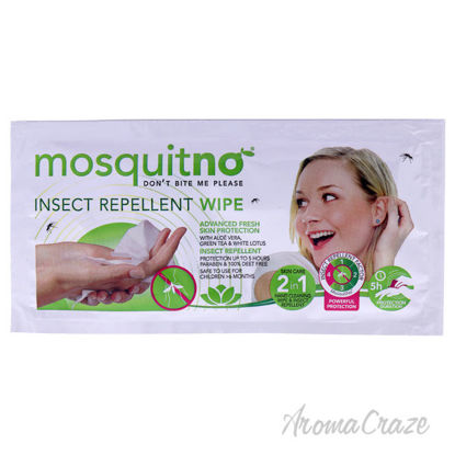 Picture of Insect Repellent Wipes by Mosquitno for Unisex 1 Pc Wipes