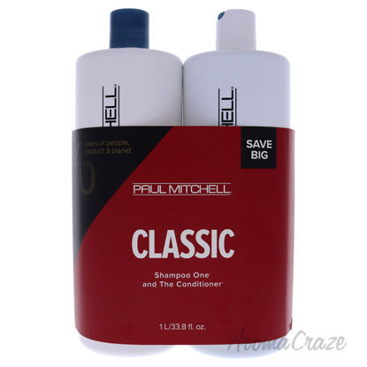 Picture of Classic Kit by Paul Mitchell for Unisex 2 Pc Kit 33.8 oz Shampoo One, 33.8 oz The Conditioner